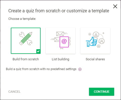 Thrive Quiz Builder Plugin, beste WordPress Quiz Plugins
