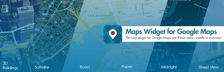 Widget Map pro Google Maps - Google Maps Builder